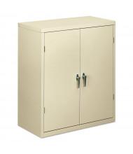"""HON Brigade SC1842L 36"""" W x 18"""" D x 42"""" H Storage Cabinet in Putty, Assembled"""