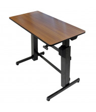 Ergotron WorkFit-D Rectangular Adjustable Sit-Stand Desk