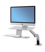 Ergotron WorkFit-A 24414227 Sit-Stand Workstation for iMac, Silver