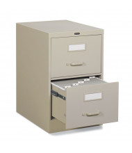 "Global 25-250 2-Drawer 25"" Deep Vertical File Cabinet, Legal (Shown in Desert Putty)"