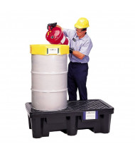 Ultratech Economy Spill Pallets, 66 Gallons (2-drum model, example of application)
