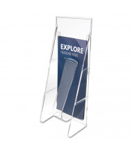 "Deflect-o Stand Tall 12"" H 1-Compartment Literature Leaflet Wall Display"
