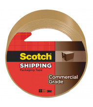 "Scotch 1.88"" x 54.6 yds Tan Commercial Grade Packaging Tape, 3"" Core"