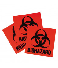 Justrite 25880 Biohazard Label Kit
