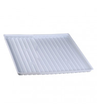 Just-Rite 25993 Polyethylene Tray for Shelf no. 29950 or 15 Gallon Under Fume Hood Safety Cabinet