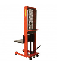 """Wesco Standard Hydraulic 1000 lb Load 60"""" to 80"""" Lift Platform Stackers"""