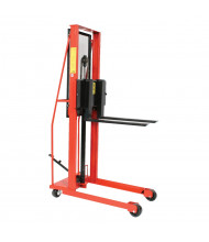 Wesco Economy 1000 lb Load Manual Hydraulic Fork Stackers