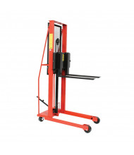 Wesco Economy Hydraulic 1000 lb Load Straddle Fork Stackers
