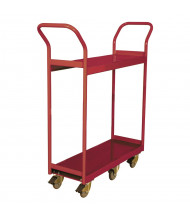 Wesco 800 lb Load Steel Shelf Service Carts