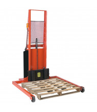Wesco Powered 1000 lb Load Adjustable Span Straddle Stackers