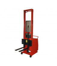 Wesco Powered Counter Balance 1000 lb Load Fork Stackers with Power Drive