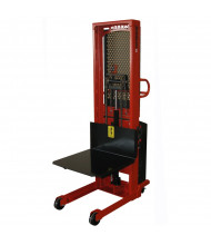 Wesco Powered 1500 & 2000 lb Load Platform Stackers