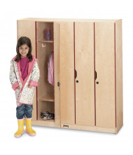 Jonti-Craft 5-Section Lockable School Locker with Door