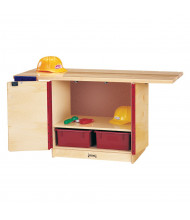 Jonti-Craft Lockable Workbench Dramatic Play Set