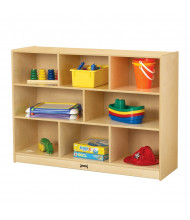 "Jonti-Craft ThriftyKYDZ Super-Sized 15"" Deep Mobile Classroom Storage Unit"
