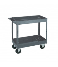 "Wesco SC-1630 500 lb Load 16"" x 30"" Steel Service Cart"