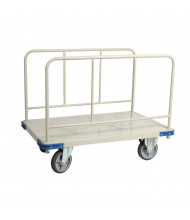 "Wesco 270388 Commercial 1100 lb Load 30"" x 48"" Panel Cart"