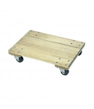 Wesco 900 to 1200 lb Load Wood Dollies (Shown with Solid Platform)