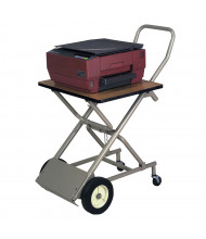 Wesco Office Caddy 7-Position Multi-Purpose Hand Truck (Printer Not Included)