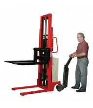 "Wesco EKS-10 2200 lb Load 98"" Lift Fork Power Drive Stacker"