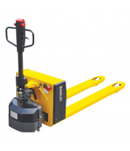 "Wesco SEPT3.3 Semi-Electric 3300 lb Load Heavy-Duty Pallet Jack Truck 27"" W x 48"" L"