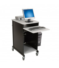 Balt 27517 Xtra Wide Presentation AV Cart (example of use)