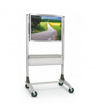 Balt 27544 Heavy-Duty Platinum Flat Panel Cart (example of use)