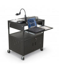 Balt FDB 27565M Wide Body Presentation AV Cart (example of use)
