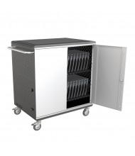 Balt A La Cart XL 27726A 32 Tablet & Chromebook Capacity Charging Cart (example of use)