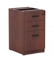 Alera Valencia Box/Box/File Letter & Legal Pedestal, Medium Cherry