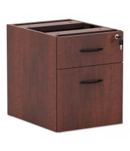Alera Valencia 3/4 Box/File Suspended Pedestal, Medium Cherry