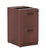 Alera Valencia File/File Letter & Legal Full Pedestal, Medium Cherry