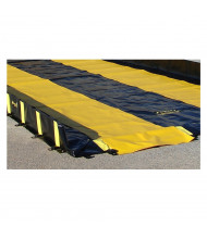 Justrite 3 W Track Runners for Spill Containment Berms (Shown with separate second runner)