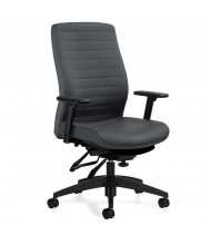 Global Aspen 2851-3 Multi-Tilter Fabric High-Back Ergonomic Task Chair