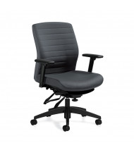 Global Aspen 2852-3 Multi-Tilter Fabric Mid-Back Ergonomic Task Chair
