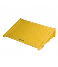 Just-Rite 28620 Ramp for 4-Drum Square Ecopolyblend Spill Control Pallet, Yellow