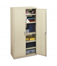 """HON Brigade SC1872L 36"""" W x 18"""" D x 72"""" H Storage Cabinet in Putty, Assembled"""
