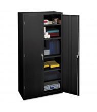 """HON Brigade SC1872P 36"""" W x 18"""" D x 72"""" H Storage Cabinet in Black, Assembled"""