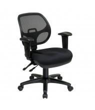 Office Star Pro-Grid Mesh-Back Fabric Mid-Back Ergonomic Task Chair