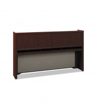 "Bush Enterprise 2973 72"" W Overhead Hutch (Shown in Harvest Cherry)"