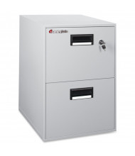 SentrySafe 2B2100 Fireproof File Cabinet Shown in Putty