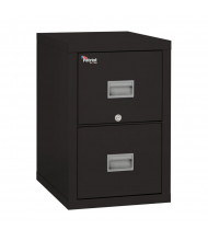 """FireKing Patriot 2-Drawer 25"""" Deep 1-Hour Rated Fireproof File Cabinet, Letter & Legal (Shown in Black)"""
