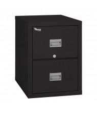 "FireKing Patriot 2P1831-C-BL 2-Drawer 31"" Deep Fireproof File Cabinet"