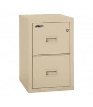 "FireKing Turtle 2R1822-C 2-Drawer 22"" Deep Fireproof File Cabinet, Letter"