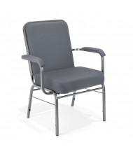 OFM Comfort Class 300-XL Big & Tall 500 lb. Fabric Stacker Guest Chair (in grey)
