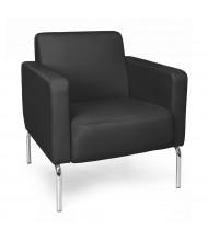 OFM Triumph Vinyl Club Chair (Shown in Black)