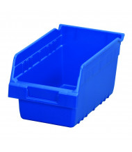 Akro-Mils ShelfMax Plastic Storage Bins (Shown in Blue)