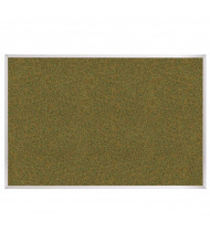 Best-Rite 300AK Splash-Cork 10 ft. x 4 ft. Aluminum Finish Bulletin Board (Shown in Green)