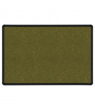Best-Rite 300PK-T1 Splash-Cork 10 ft. x 4 ft. Black Presidential Finish Bulletin Board (Shown in Green)
