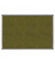 Best-Rite 300PH Splash-Cork 8 ft. x 4 ft. Presidential Finish Bulletin Board - Shown in Green